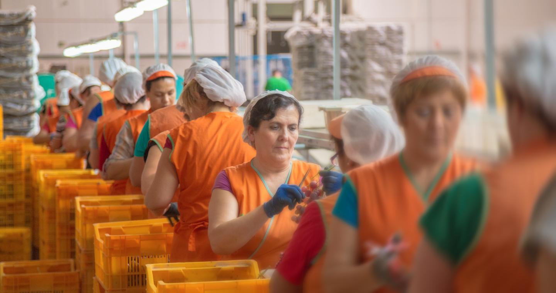 Trabajadoras de Thader Cieza